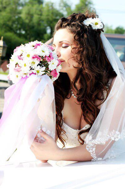 Картинка Cвадебный образ невесты