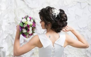 До и После работы свадебного стилиста